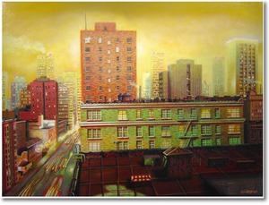 Medium hyde street 42x48