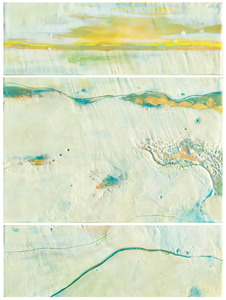 Medium gold country triptych small