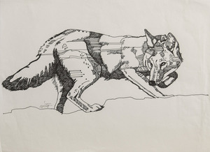 Medium coyote ink