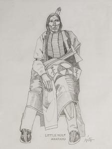 Medium little wolf arapaho pencil
