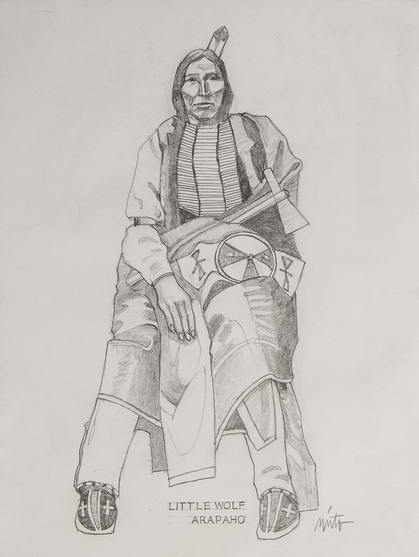 Xlarge little wolf arapaho pencil