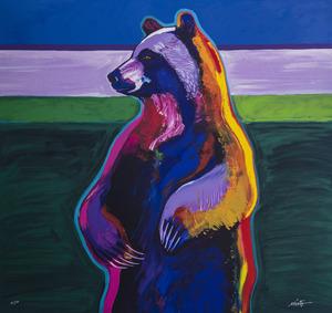 Medium standing bear 31x33