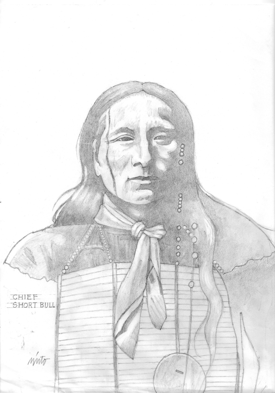Xlarge chief short bull pencil