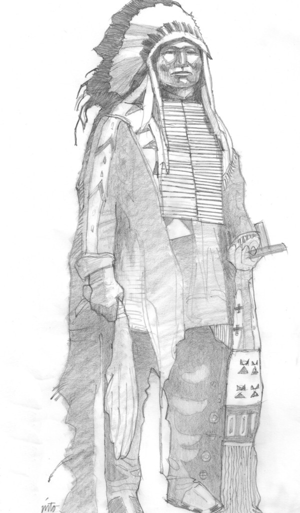 Large chief pencil