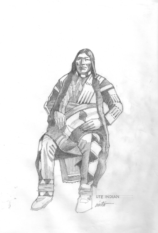 Xlarge ute indian pencil
