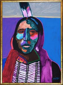 Medium kiowa apache framed