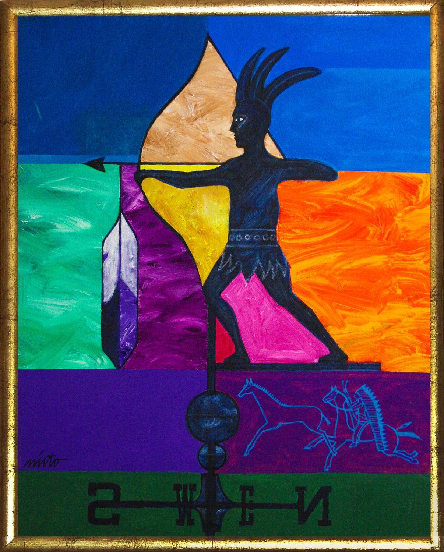 Xlarge wind of change framed
