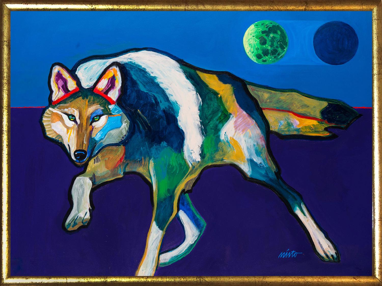 Xlarge alpha wolf
