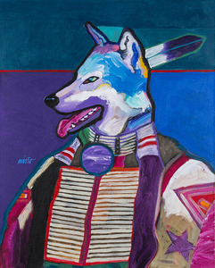 Medium high wolf 003